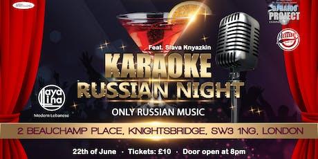 Russian Karaoke Party tickets