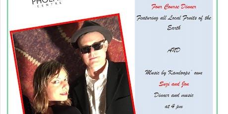 Phoenix Centre Fundraiser Dinner & Music tickets