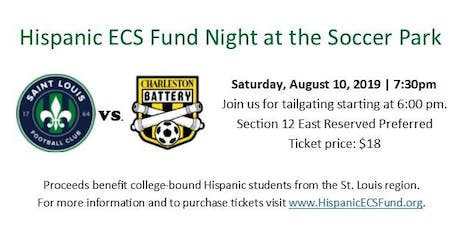 Hispanic ECS Fund Night at the Soccer Park tickets