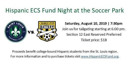Hispanic ECS Fund Night at the Soccer Park