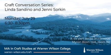 Craft Conversation Series: Linda Sandino and Jenni Sorkin tickets