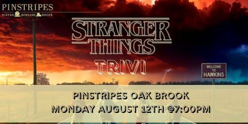Stranger Things Trivia at Pinstripes Oak Brook