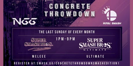 Concrete Throwdown - Smash Edition 1  tickets
