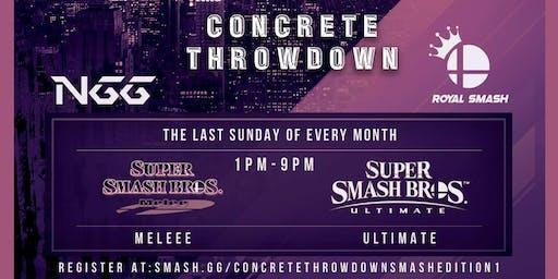 Concrete Throwdown - Smash Edition 1