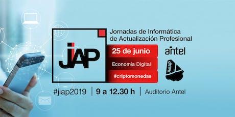 #JIAP2019 - Economía Digital (Criptomoneda) entradas
