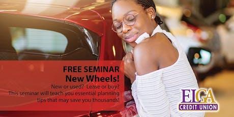 New Wheels! - Davison tickets