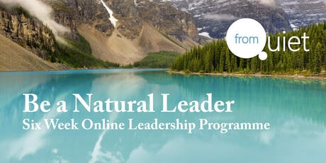 Be a Natural Leader ONLINE Programme tickets