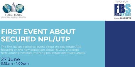 Secured NPL/UTP tickets
