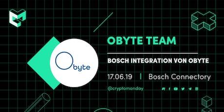 Obyte & Bosch: Wie integriert Bosch die DAG Technologie? Tickets