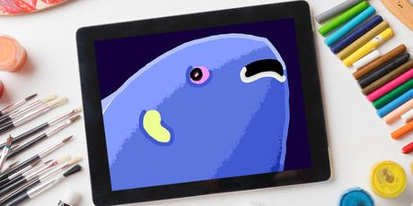 Class: iPad Painting (Ages 6-9) tickets