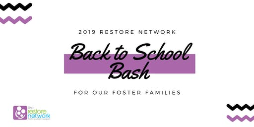 Back to School Bash-St. Clair County Restore Network families