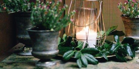 Botanical Candle and Petal Melt Workshop  tickets