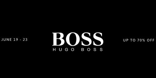 The HUGO BOSS Vancouver Warehouse Sale