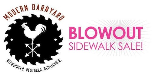 Modern Barnyard Blowout Sidewalk Sale!  June 14th-16th!