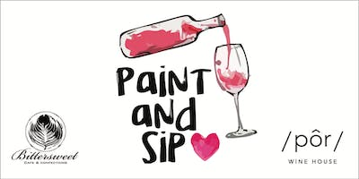 Paint & Sip on the Patio!