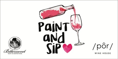 Paint & Sip on the Patio! tickets