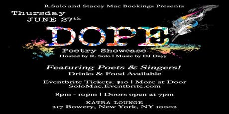 #DOPE Poetry Showcase tickets
