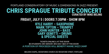 DIJ: Chris Sprague Tribute Concert tickets