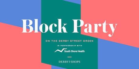 Derby Street Block Party tickets