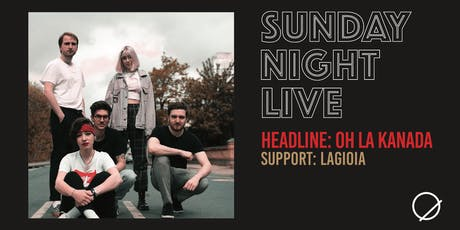 Sunday Night Live: October tickets