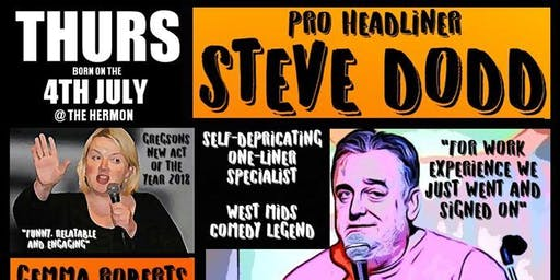 "Stand-up comedy live with Steve ""Big Bear"" Dodd and guests"