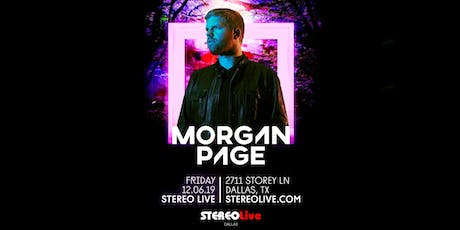 Morgan Page - Dallas tickets