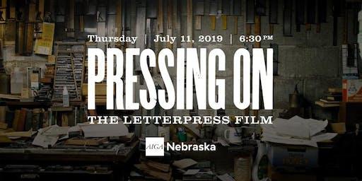 Pressing On: The Letterpress Film Screening