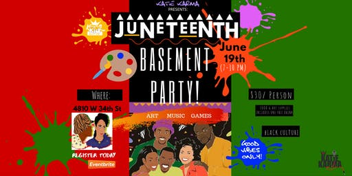 Juneteenth Freedom Party