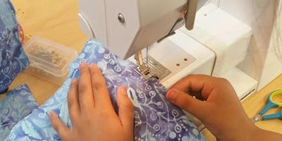 """I Can Sew on a Sewing Machine Too!"" Kids Sewing Class (Morning) - @ Hobby Lobby on Kuykendahl"