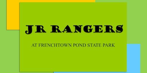 Jr. Rangers Environmental Stewardship Session 2