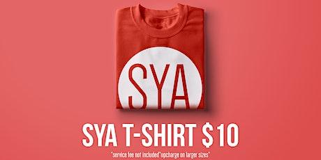 SYA T-Shirts tickets