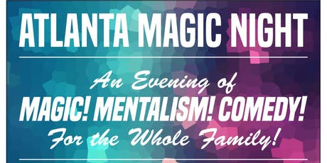 Atlanta Magic Night! w/ Junior Ascanio + Chris Moorman tickets