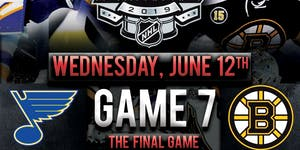 Stanley Cup Finals Game 7 Viewing Party @ The Greatest...