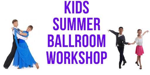 Kids Summer Ballroom Workshop ages 7-12