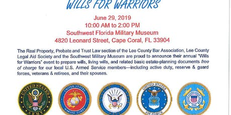 Wills For Warriors tickets