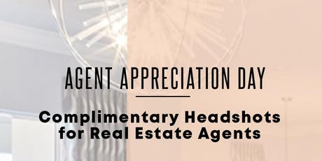 Complimentary Headshots for Realtors tickets