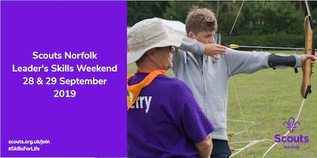 Norfolk Scouts Skills Weekend  tickets