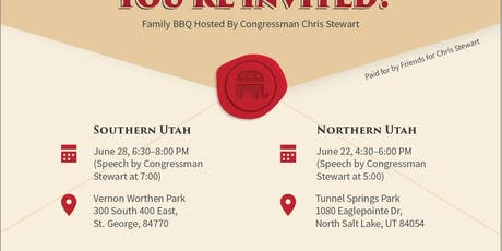 Southern UT Summer Family BBQ (FREE) tickets