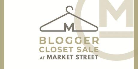 Blogger Closet Sale tickets