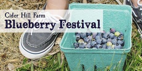 Cider Hill Farm Blueberry Festival tickets