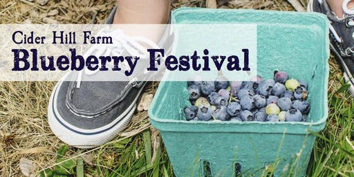 Cider Hill Farm Blueberry Festival