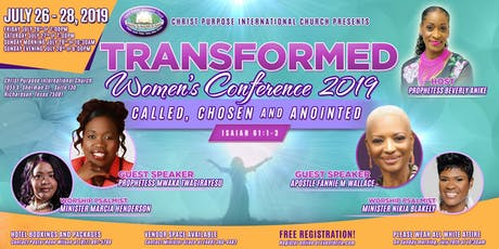 Transformed Women's Conference 2019 tickets