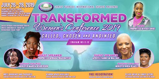 Transformed Women's Conference 2019
