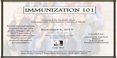 Immunization 101 Workshop