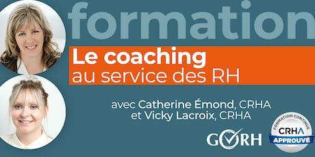 Le coaching au service des RH billets