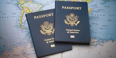 USPS Passport Fair at London Post Office