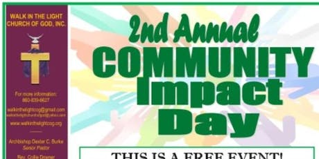 Walk In The Light Church of God, Inc. 2nd Annual Community Impact Day tickets