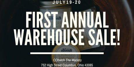 Eleventh Candle Co. First Annual Warehouse Sale  tickets