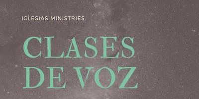 Clases de Voz  2019