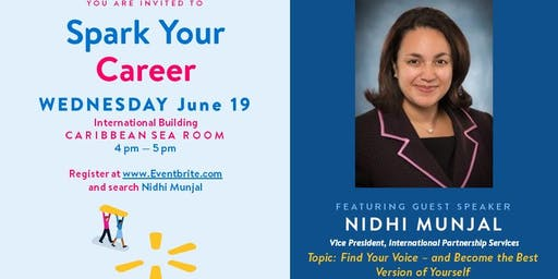 Spark Your Career with Nidhi Munjal